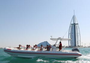 Speed boat UAE transfer