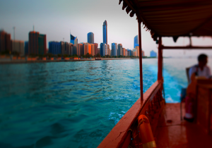 UAE transfer water taxi