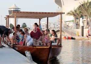 UAE airport transfer water taxi
