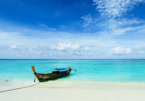 Boat transfer in island of bali