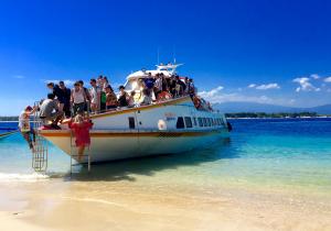 speedboat Bali transfer