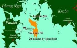Thailand speedboat transfer cost
